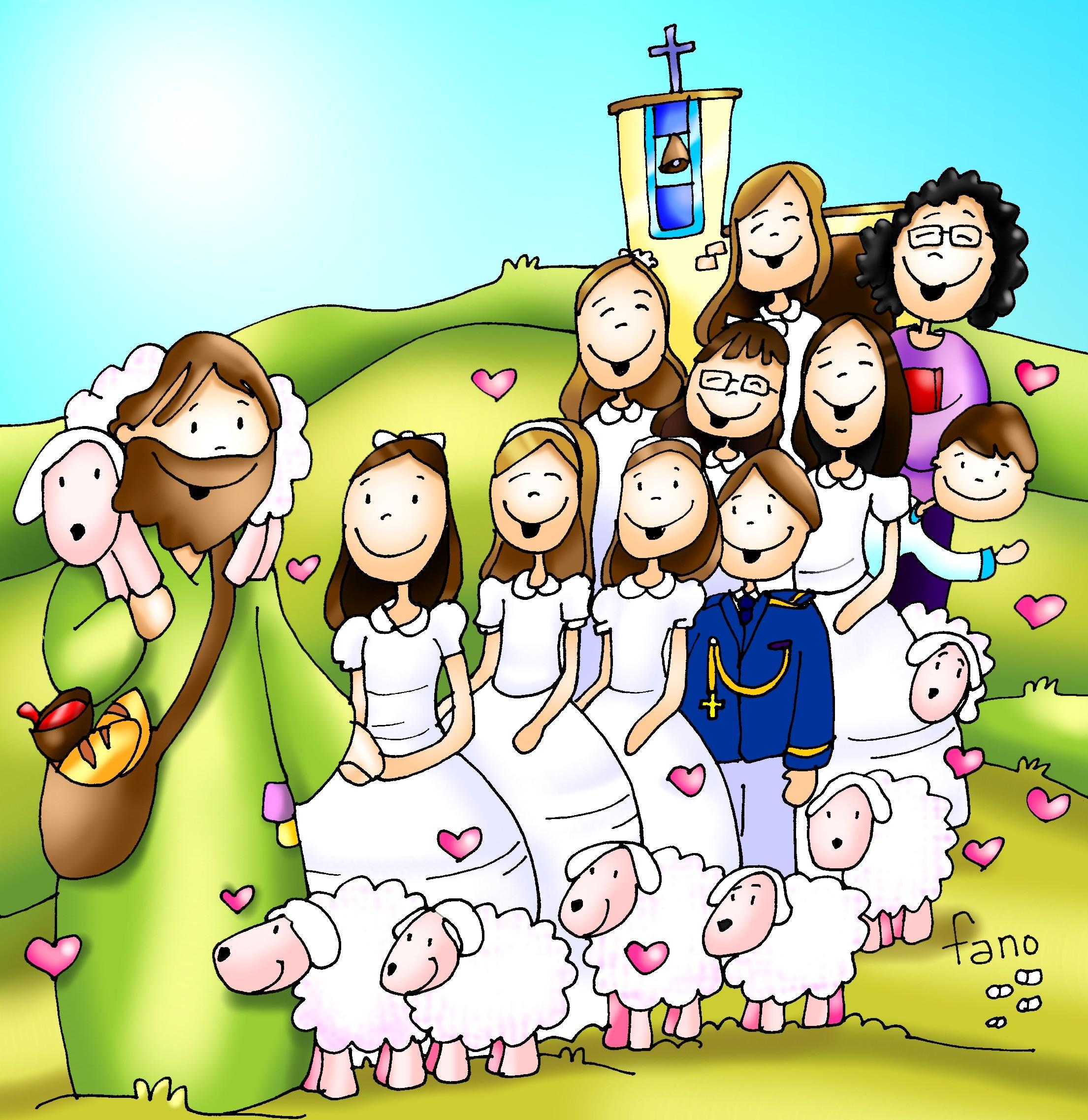 Resultado de imagen de catequesis primera comunion